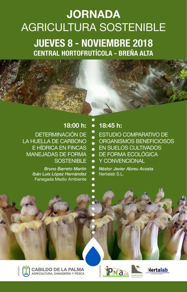 Cartel Jornada Agricultura Sostenible