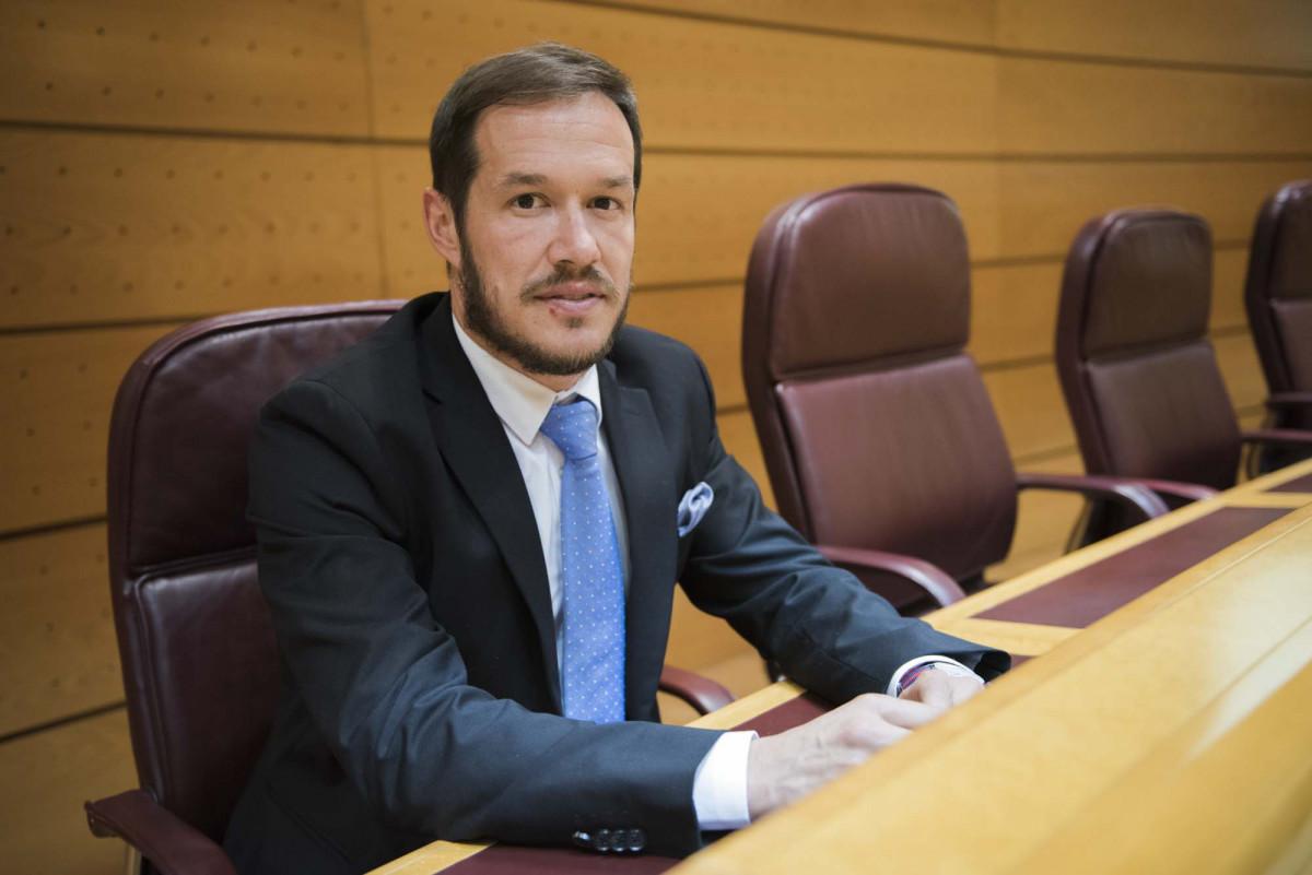 080217 013  Mariano Hernandez Zapata Senado Madrid ©CarlosAciego
