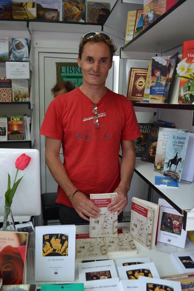 Gorka Garmendia en la Feria del Libro de Madrid