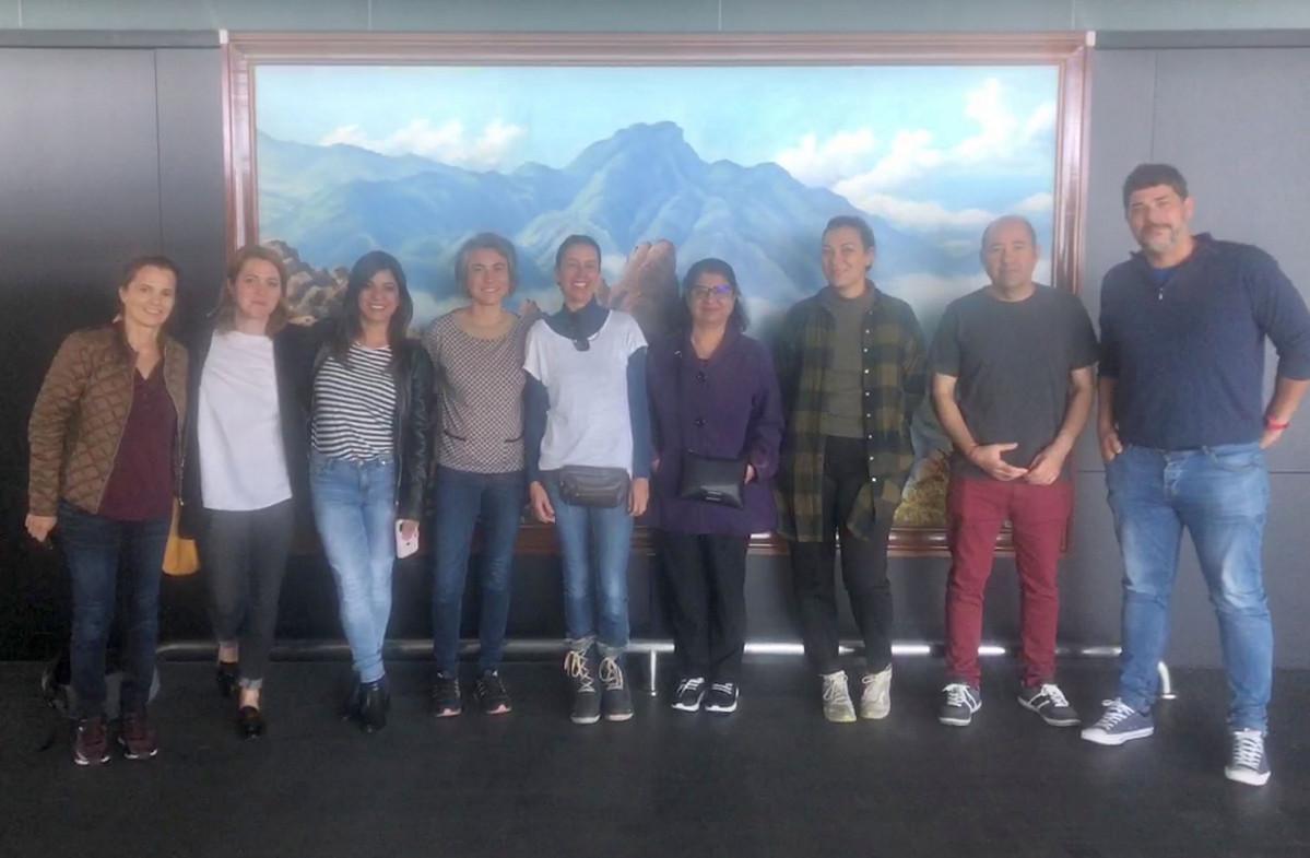 201118 Reunion sector audiovisual en La Palma