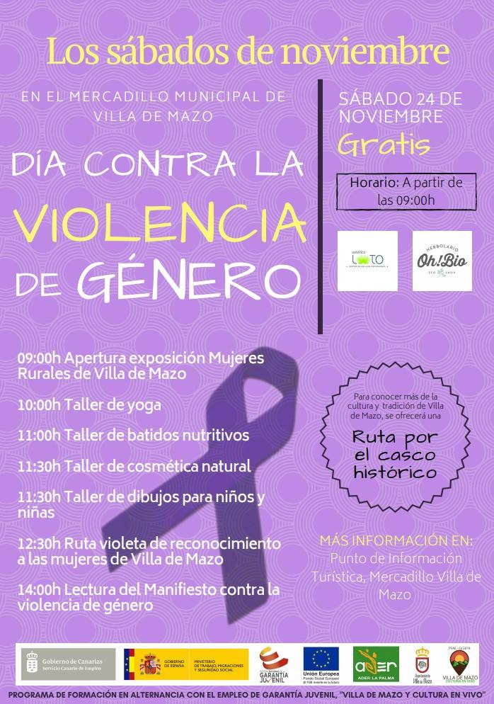 Cartel Violencia de Gu00e9nero