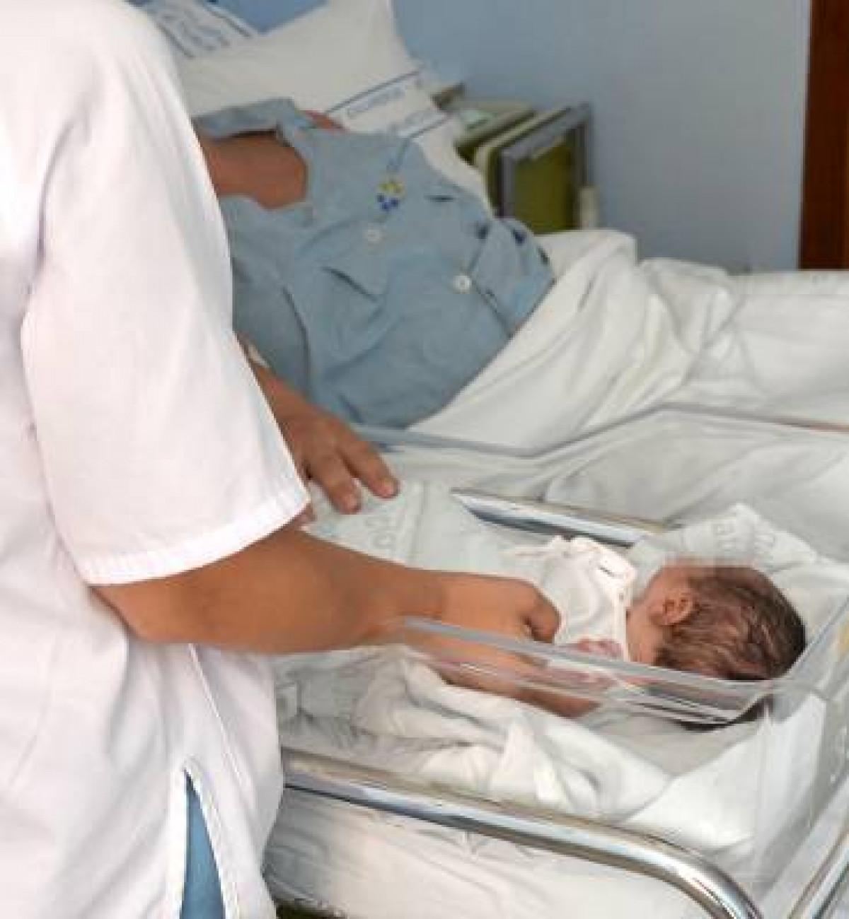 Bebu00c3u00a9 en el Hospital Materno Infantil