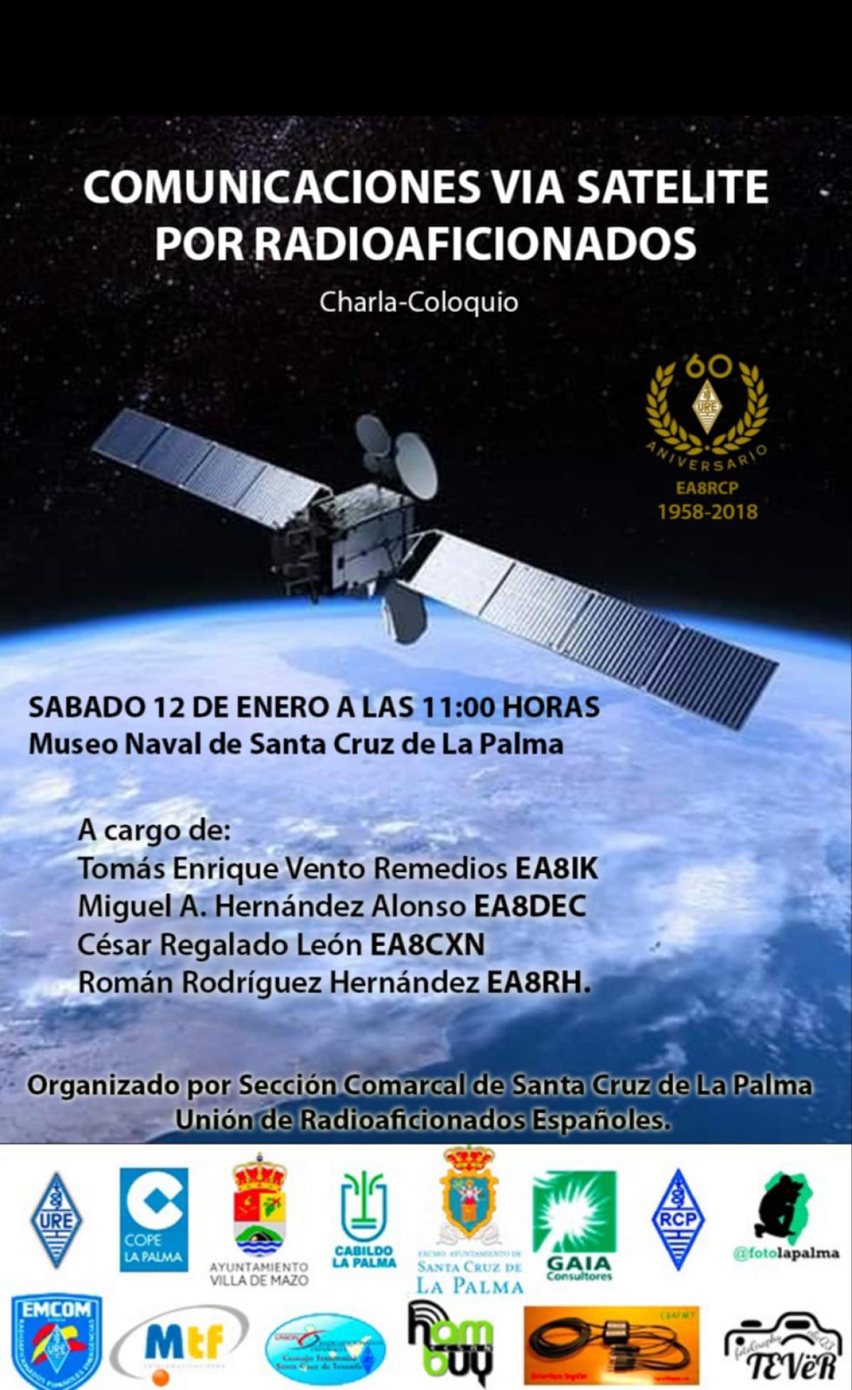 Cartel Charla Radio 12 Enero 2019 20190112