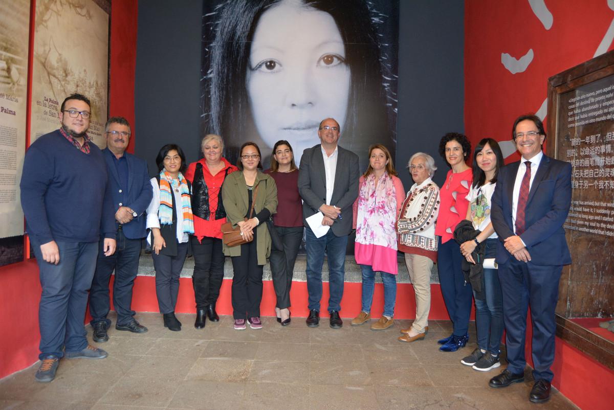 131218 Inauguraciu00f3n Expo San Mao   Autoridades