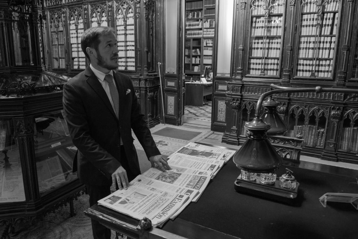 080217 001  Mariano Hernandez Zapata Senado Madrid u00a9CarlosAciego
