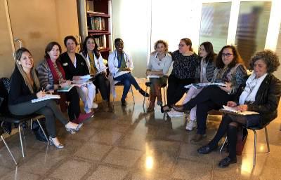 Una de las reuniones del equipo de trabajo