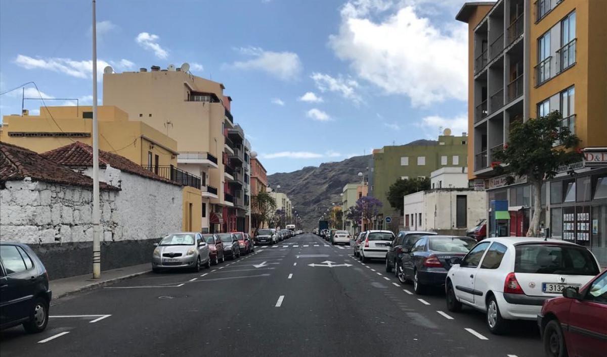 Avenida Enrique Mederos con calle Armas Argual Los Llanos de Aridane