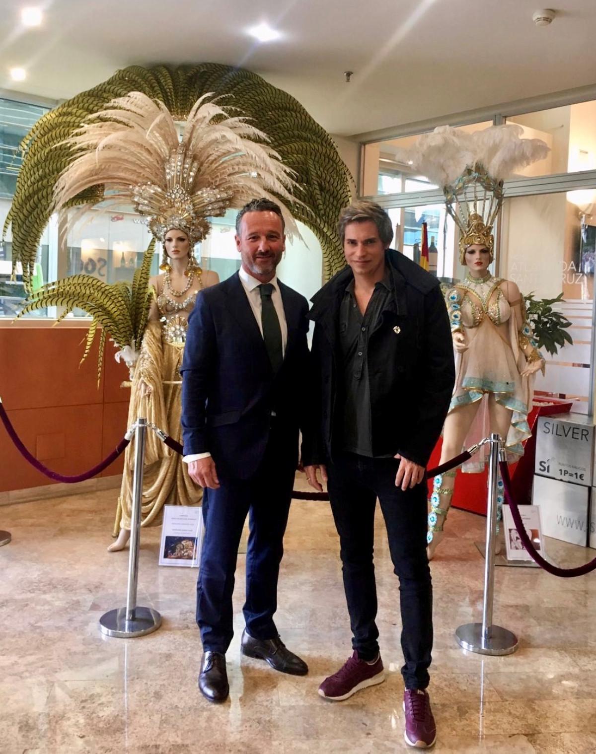 G. Wol con Carlos Baute Carnaval 2019