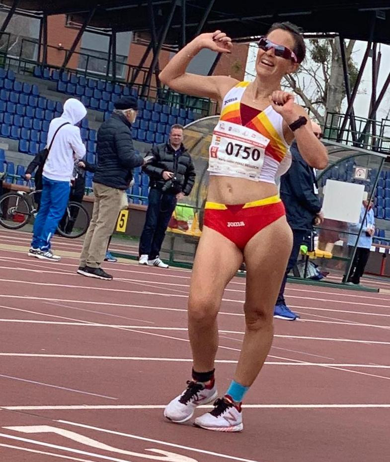 Maru00eda Isabel Pu00e9rez Belloch Marisa Perez subcampeona mundo master3 kms Polonia 2019 (1)