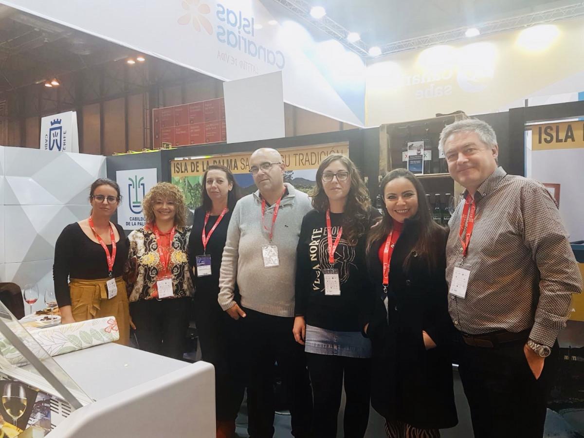 La Palma en Salu00f3n Gourmets Madrid 2019