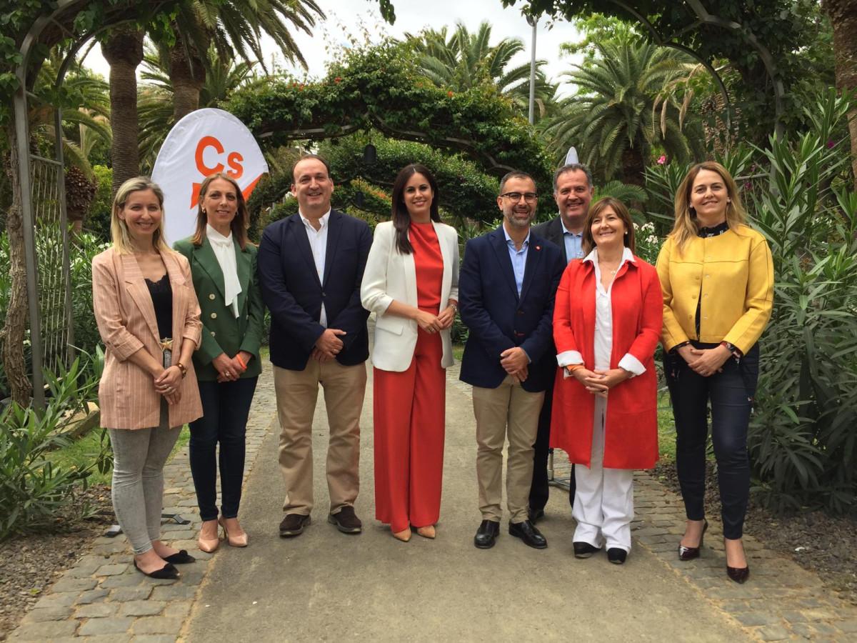 Presentaciu00f3n candidatos de Cs a Presidencia y al Parlamento de Canarias