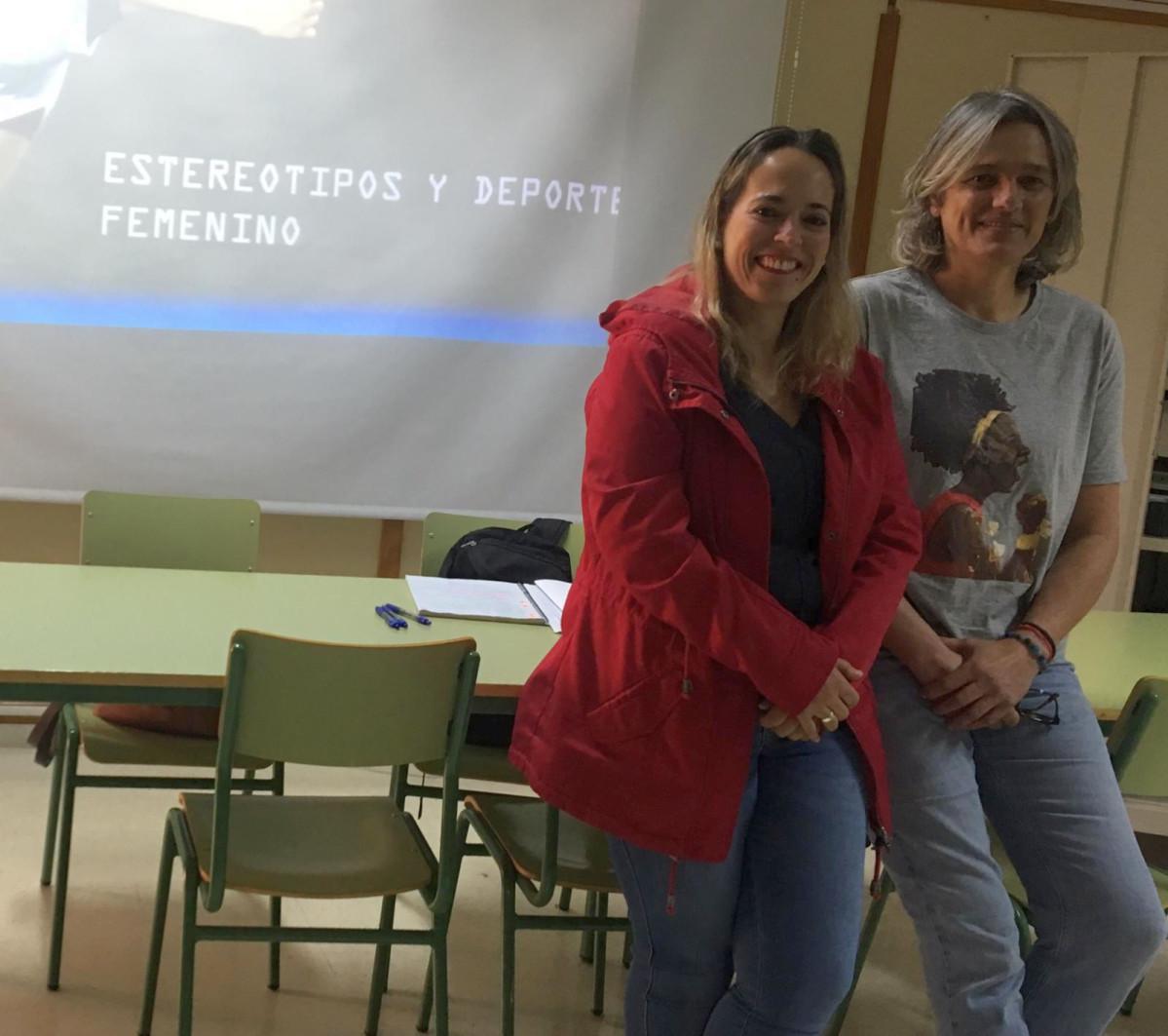 Estereotipos y Deporte Femenino Susana Machin y Myriam Henningsen