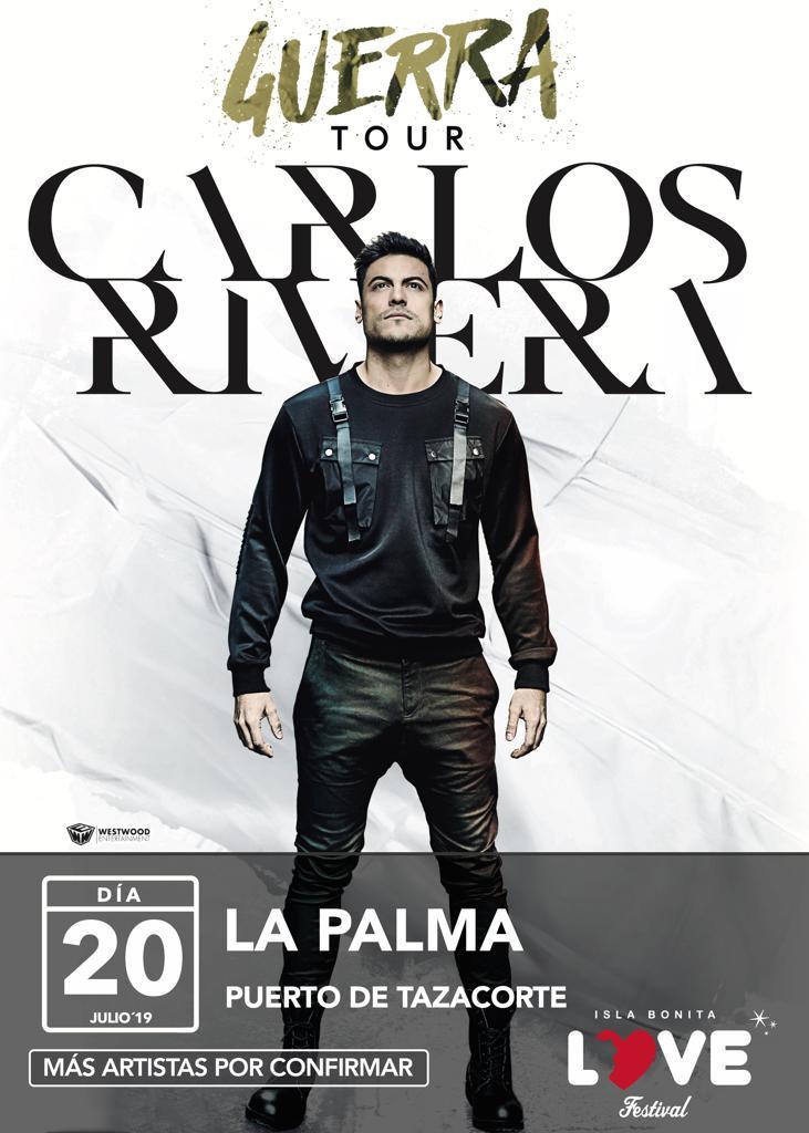 CARTEL OFICIAL CARLOS RIVERA