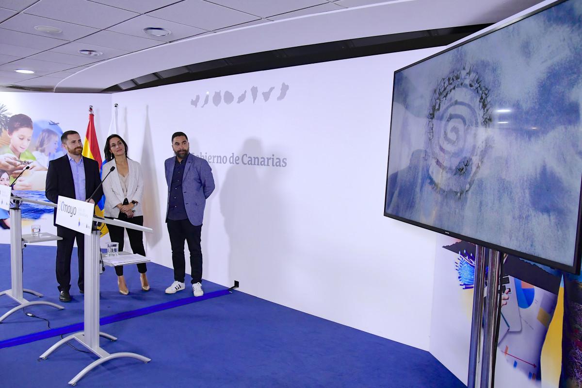 Rp Du00eda de Canarias Isaac Castellano Alexandra Betancort e Israel Reyes2