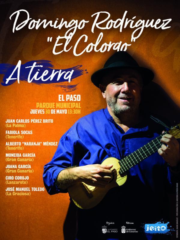 Cartel EL COLORAO 600x800