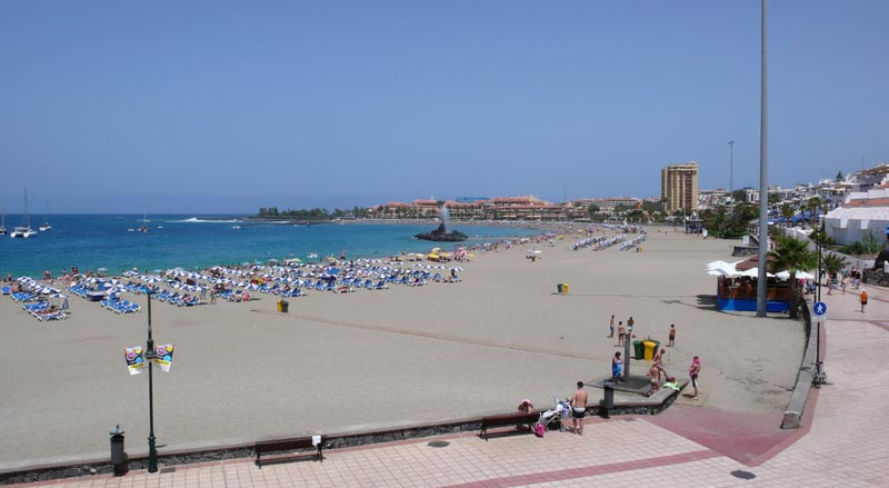 Playa de Las Vistas (Arona).