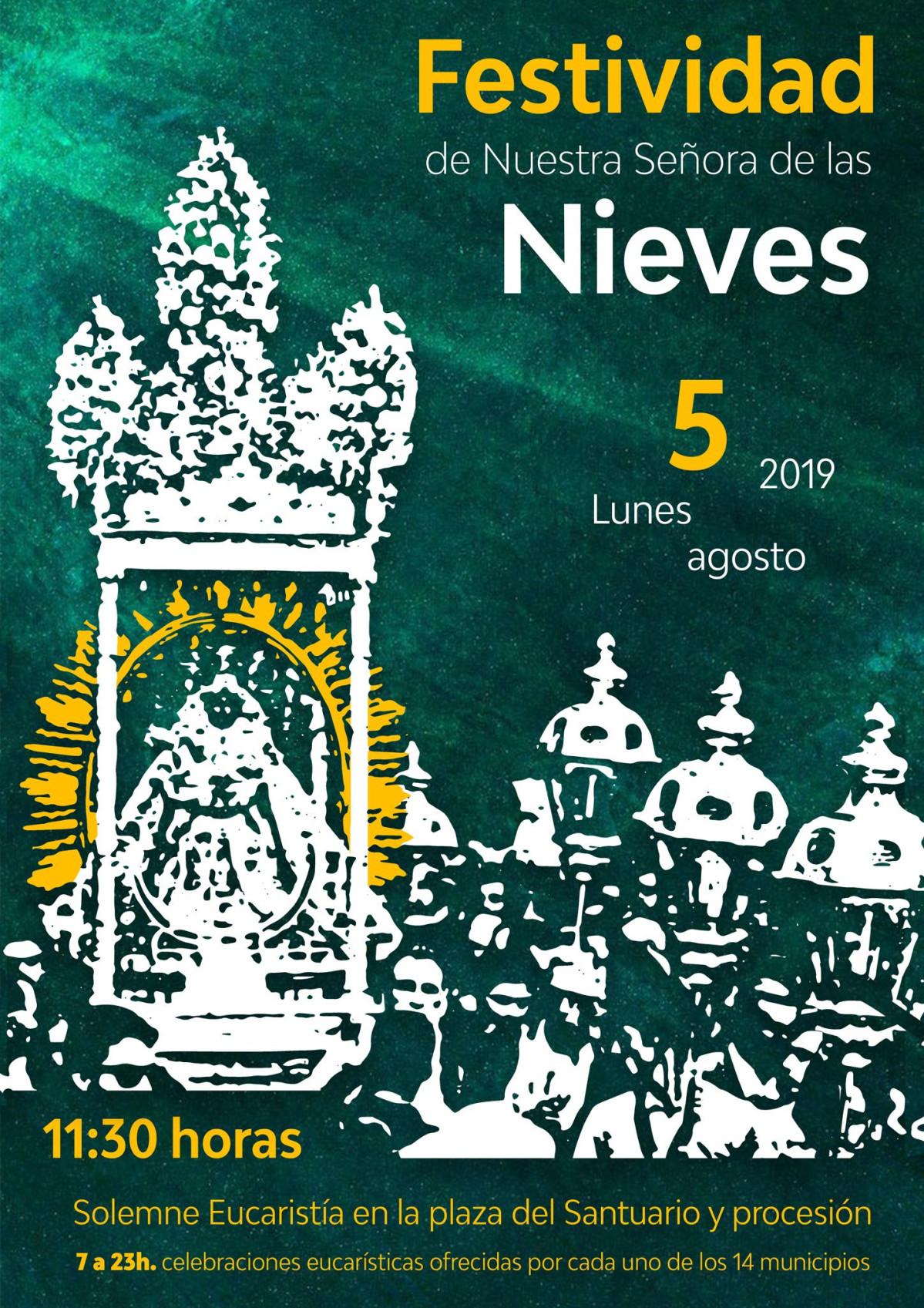 Festividad las Nieves 5 de agosto de 2019
