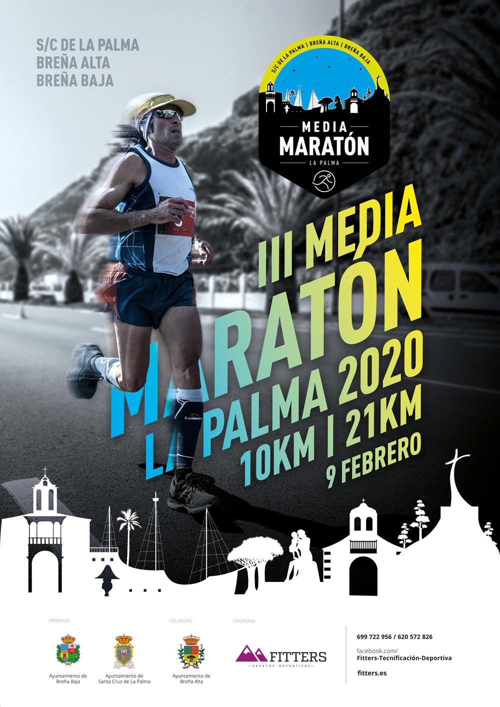 Media maraton la palma 2019