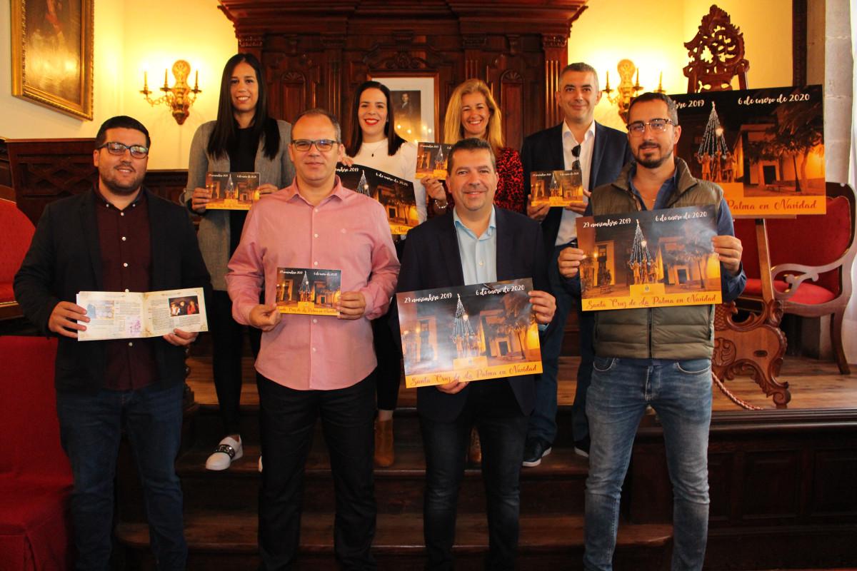 El equipo de gobierno presenta el programa navideu00f1o de Santa Cruz de La Palma (6)