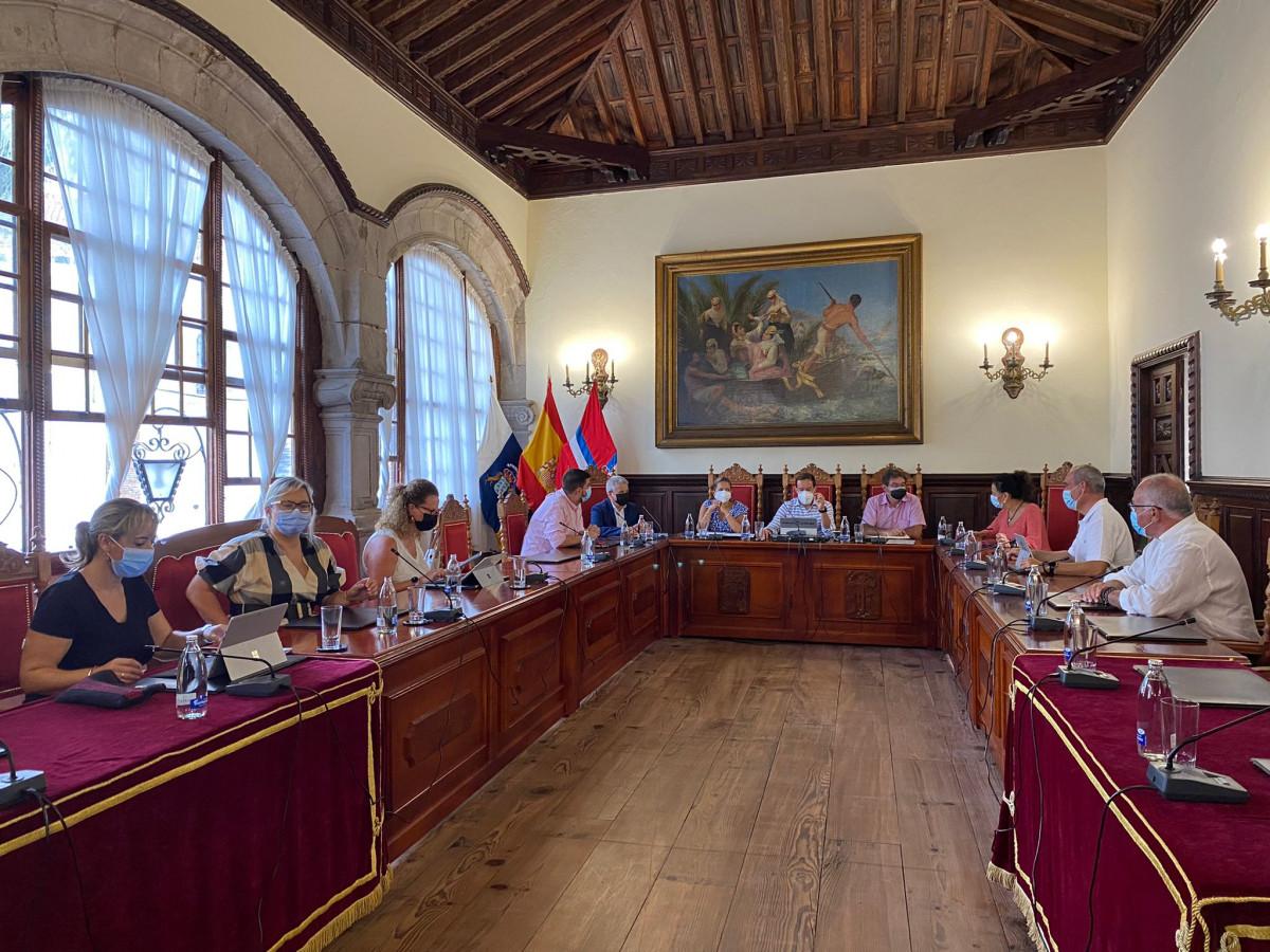 Consejo Gobierno descentralizado Santa Cruz de La Palma